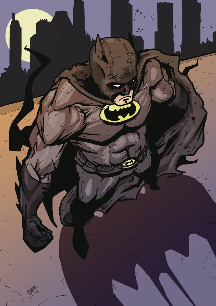 Batman Watching Over Gotham