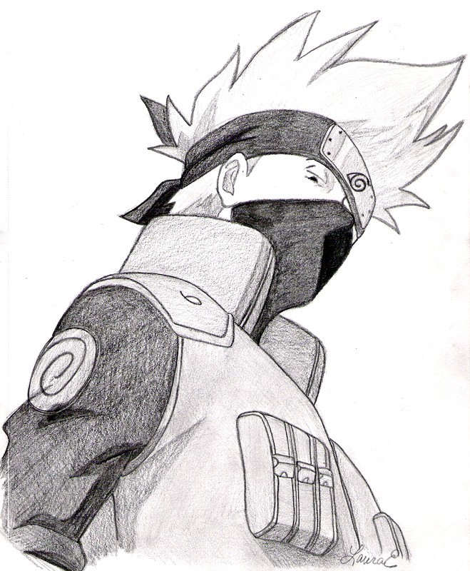 Kakashi Hatake By Inkpenofdea By Kakashi Fan On Deviantart