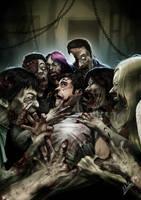 Zombie Feast by AlbertoArribas
