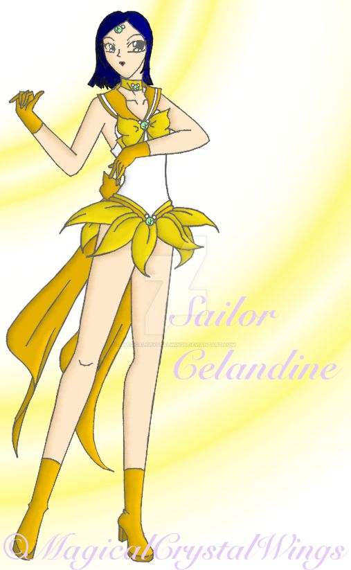 Sailor Celandine by MagicalCrystalWings