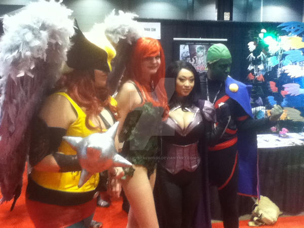 Hawk, Ivy, Yaya, Martian C2E2 2014 by MagicalCrystalWings