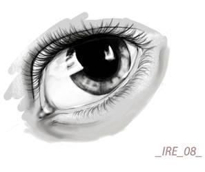 my eye by BlackNina