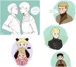 Jaime x Brienne tumblr dump