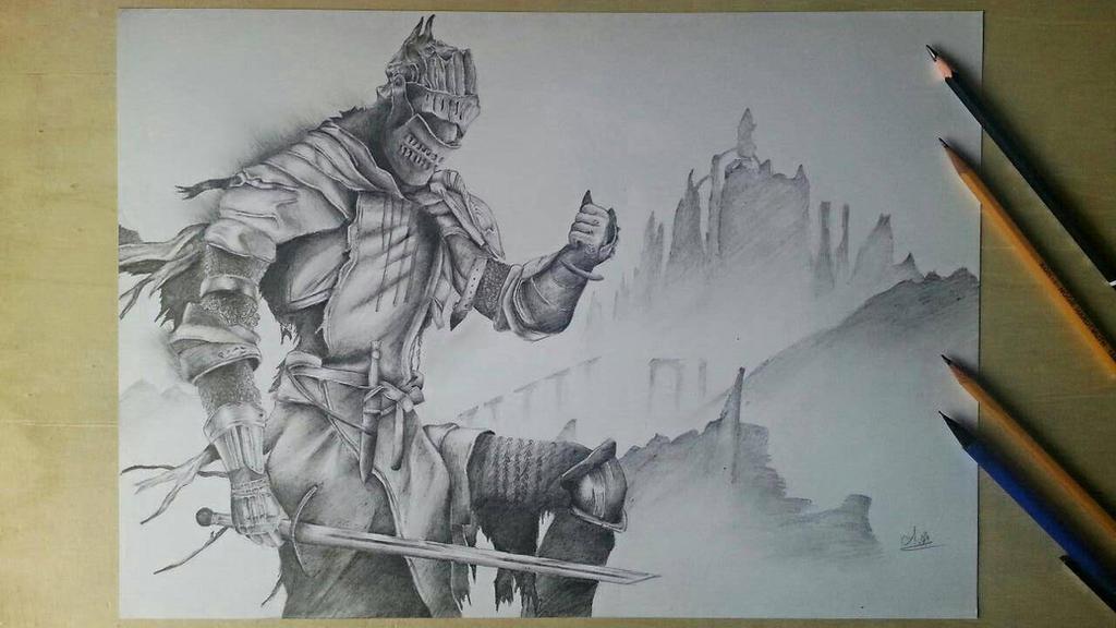 Dark Souls 3 drawing (14yo , self-learning artist) by AntikDoli on ...