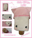 Cute Kitty the Plushie Lolly
