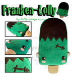 Franken Lolly the plushie