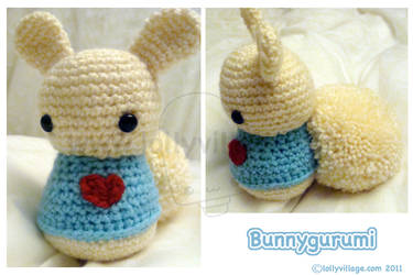 Bunnygurumi by fuzzy-jellybeans