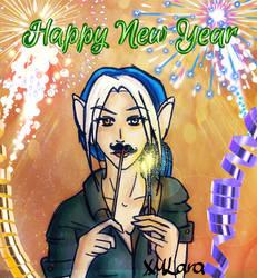 Happy New Year - 2018 by XMLara