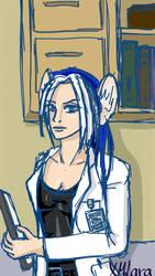 Dr. Lara sketch by XMLara