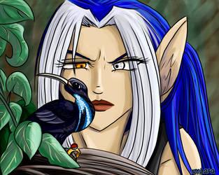 Suspicious Bird by XMLara