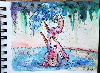 Happy Elephant by XMLara