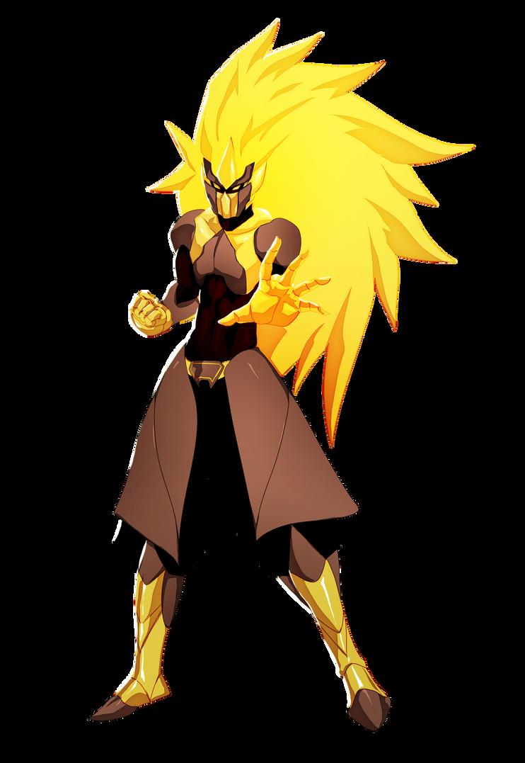 Gold Lightning Armor by EricMartinDOOD on DeviantArt