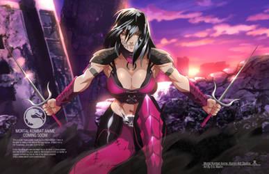 If Mortal Kombat Was an Anime