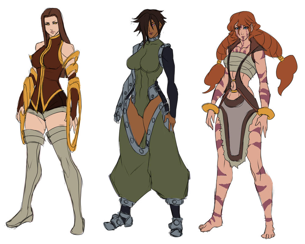 Character Design Backstory : More character designs by ericmartindood on deviantart