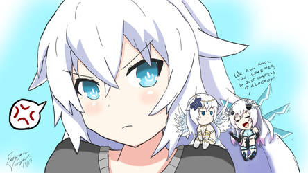 The 3 sides of Black Heart (Neptunia)