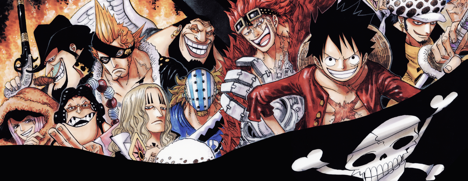 One Piece Wallpaper Supernovas