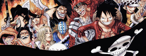one piece double screen by vladsigus