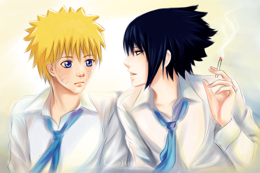 Sasunaru__students by leejun35