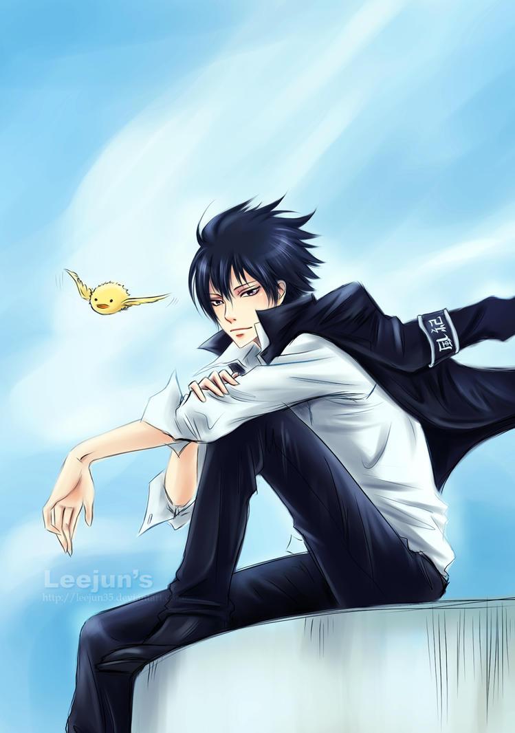 KHR:::.Hibari by leejun35