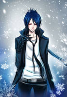KHR:: Mukuro__snowstom by leejun35