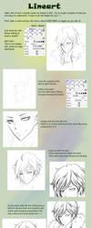 Lineart tutorial by leejun35