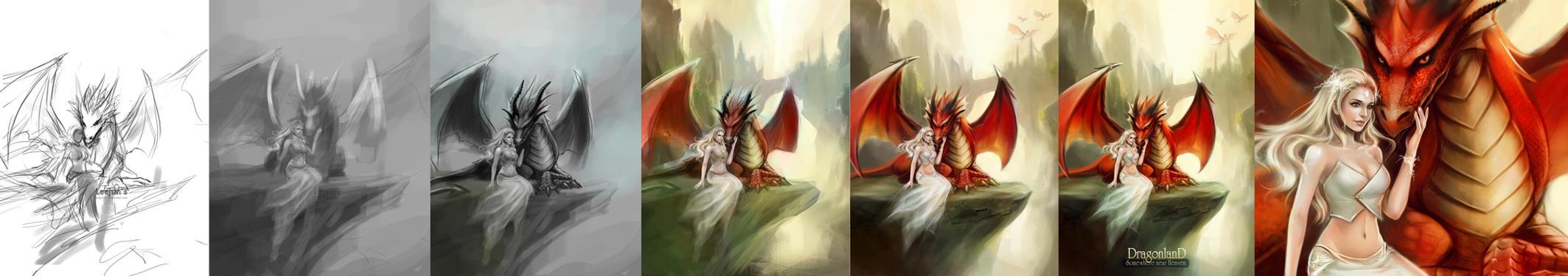 Dragon Land _ step by leejun35