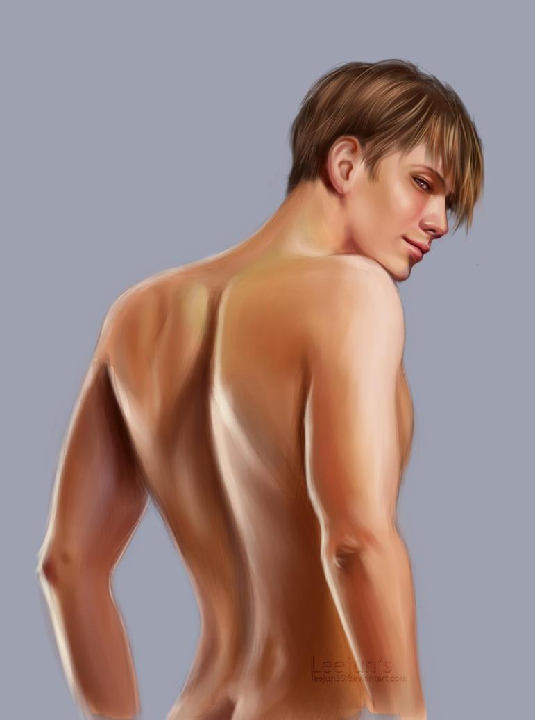 Sexy boy back