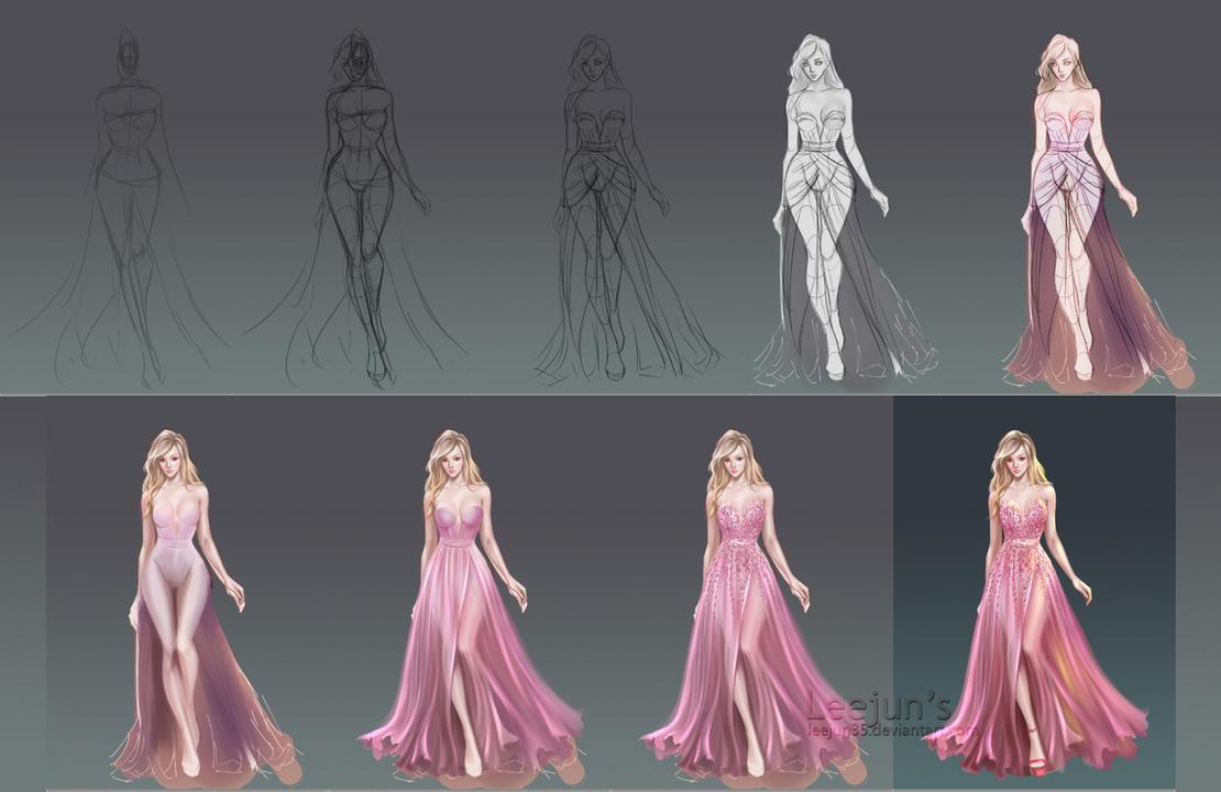 Dress_step by leejun35