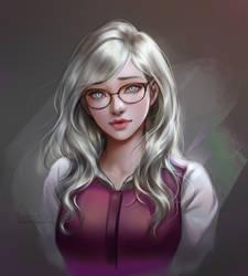 Commission:: Olivia by leejun35