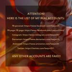 Accounts list