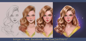How to paint: Hair tutorial