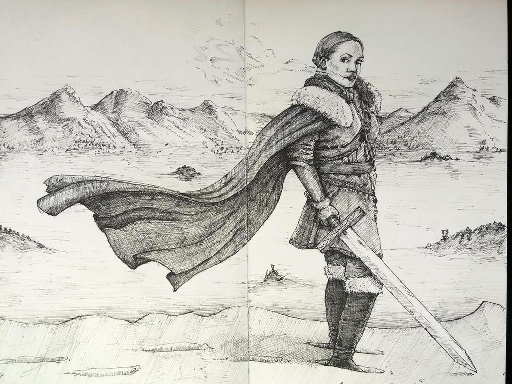 Nordic warrior by DenisMocanu