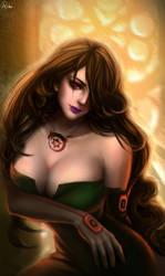Lust  Fullmetal Alchemist by RikaMello