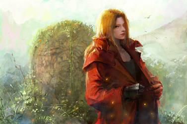 Edward Elric   Fullmetal Alchemist by RikaMello