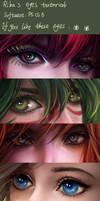My eyes tutorial
