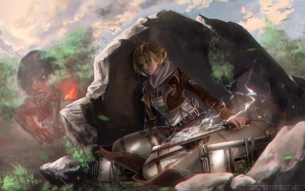 Annie :Hunting by RikaMello