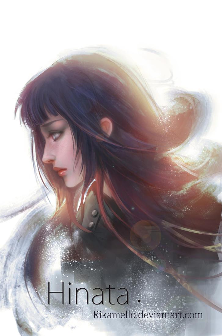 Hinata Hyuga by RikaMello