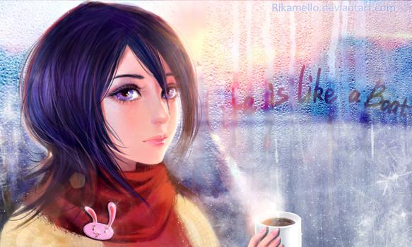 Rukia:Hello,winter