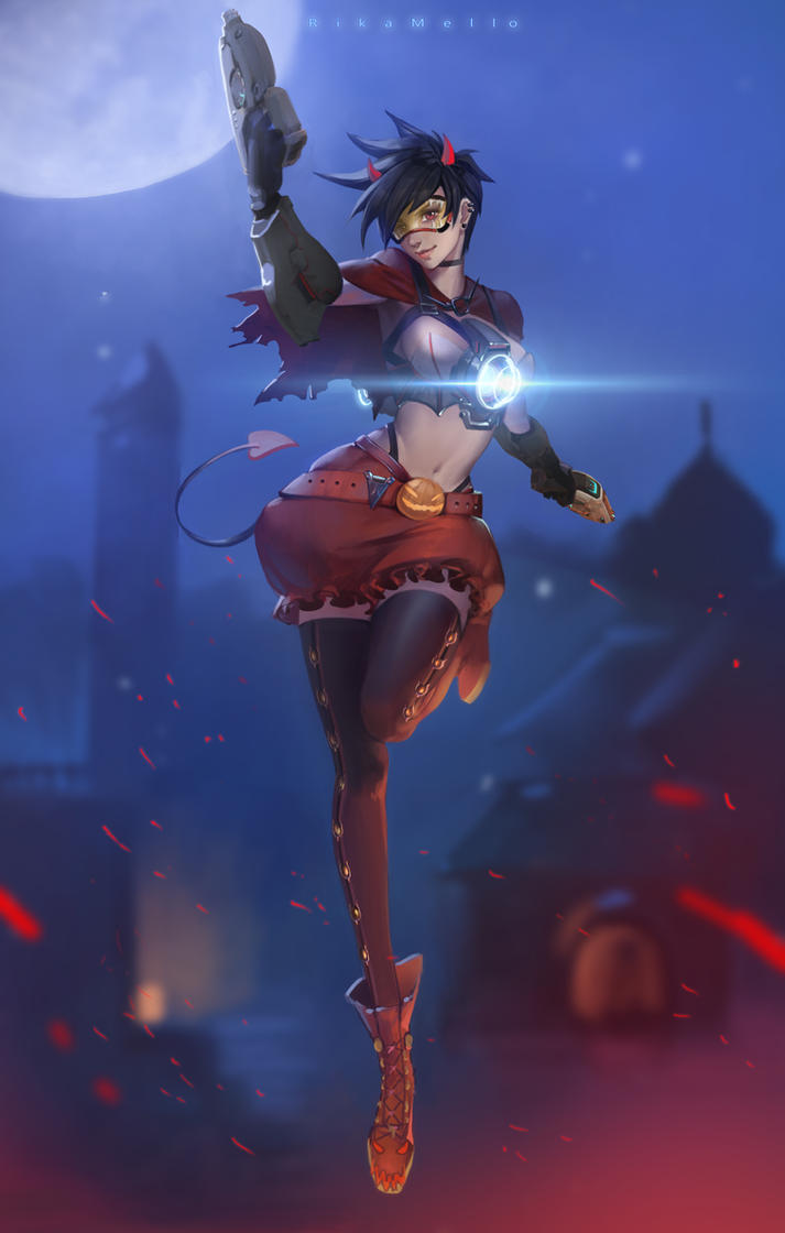 Halloween Tracer ~~ by RikaMello