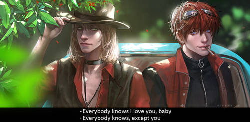 Everyboby knows I love you