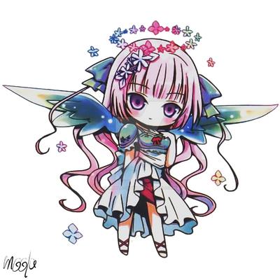 chibi anime girls fairy - photo #4