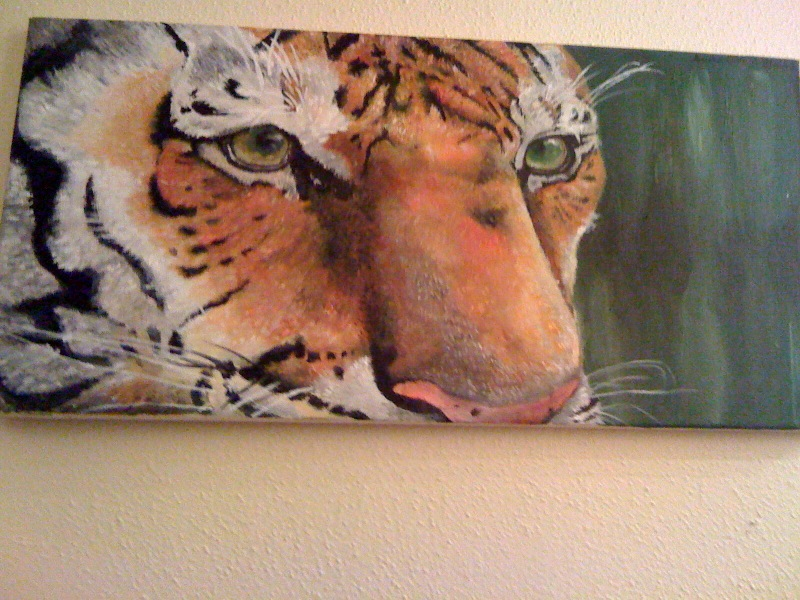 tiger by QueenAnneka
