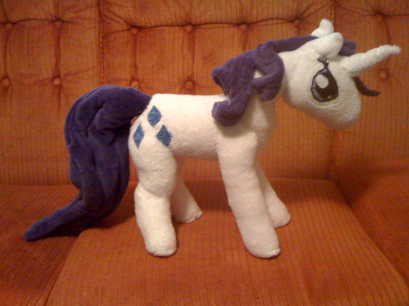 large Rarity Plush by QueenAnneka