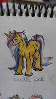 OC pony: Candle Jack by QueenAnneka
