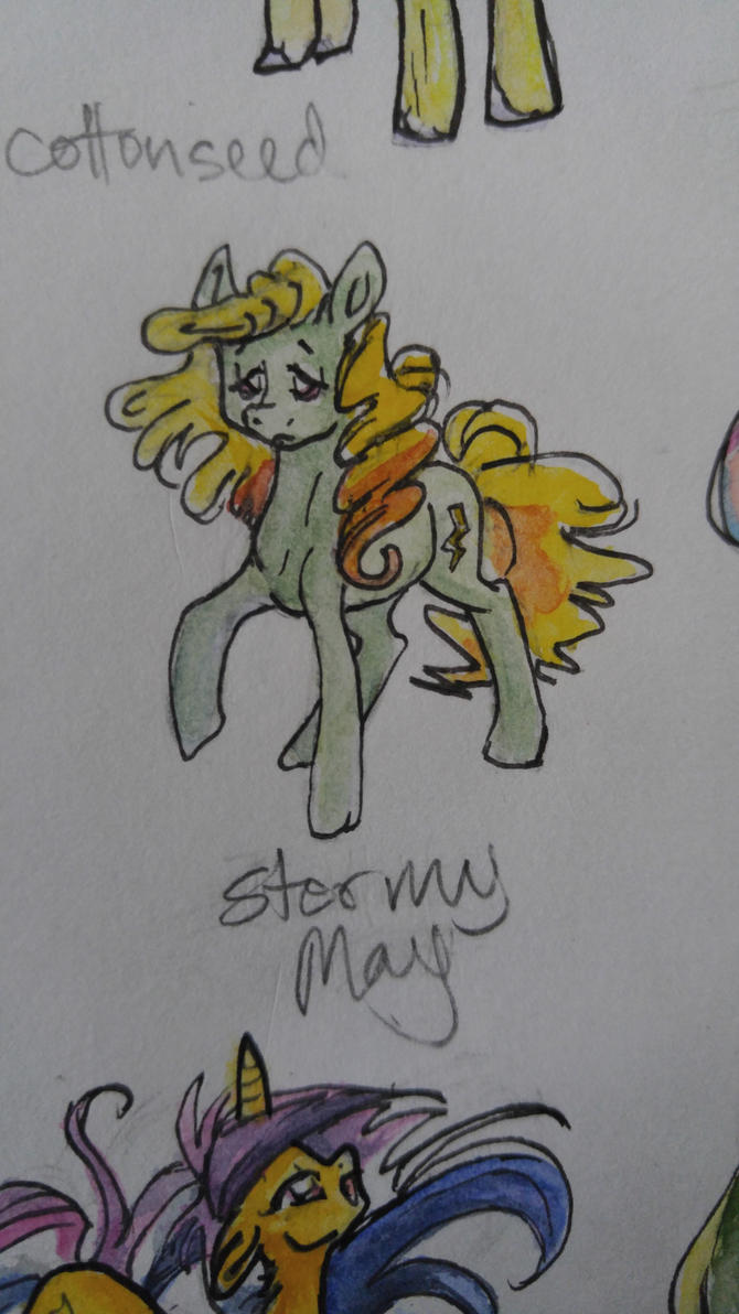 OC pony: Stormy May by QueenAnneka