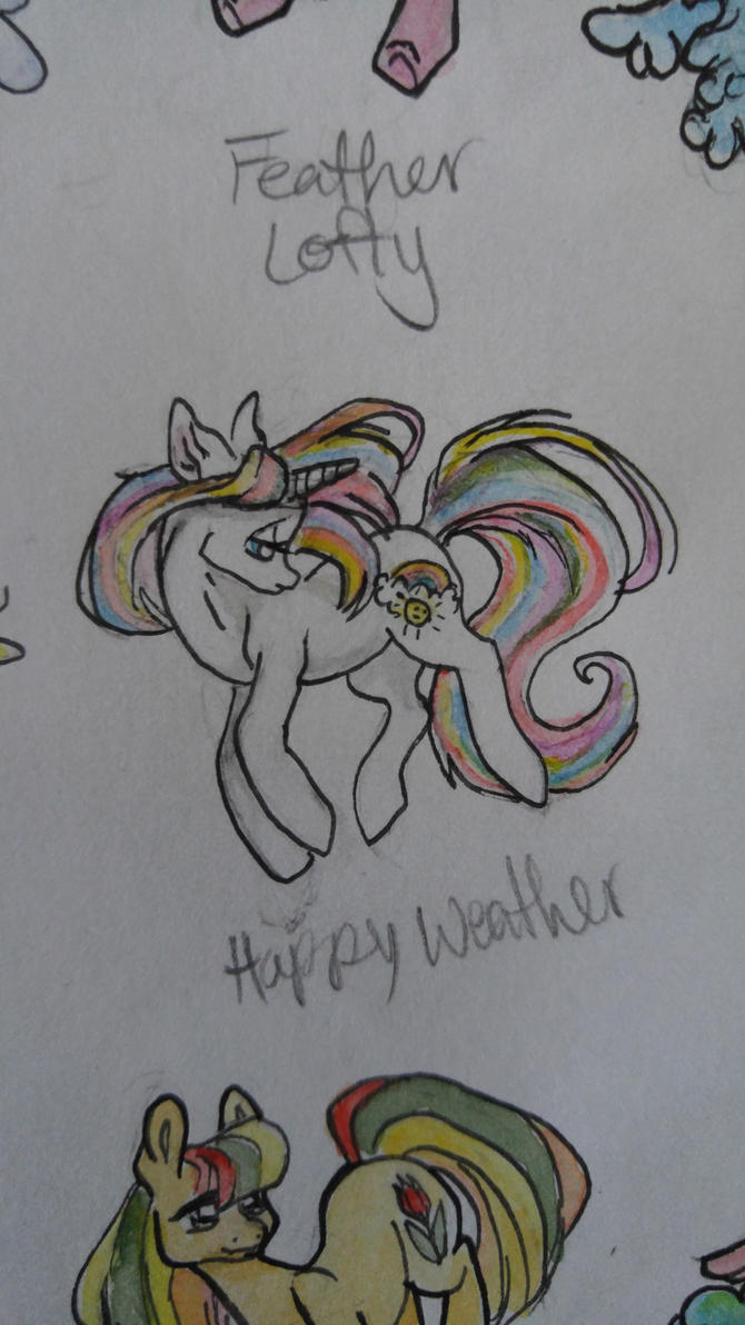 OC pony: Happy Weather by QueenAnneka
