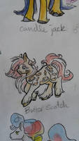 OC pony: Butter Scotch by QueenAnneka
