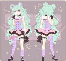 Pastel Goth Adopt [Closed] by KokoTensho