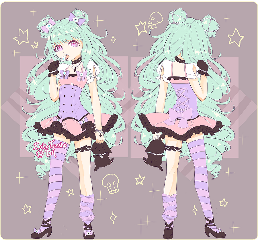 Pastel Goth Adopt [Closed] by KokoTensho