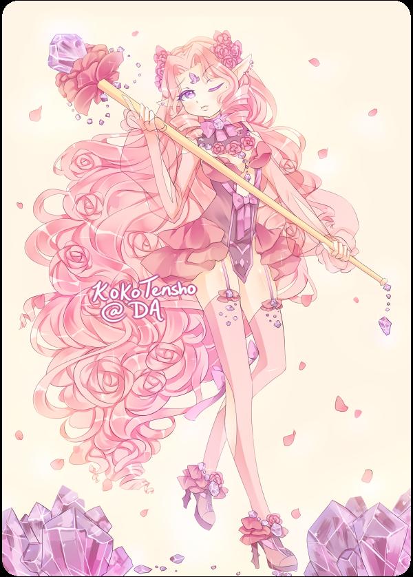 Rose quartz adopt [CLOSED] by KokoTensho